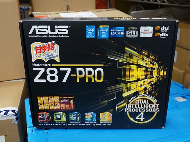 ASUS「Z87-PRO」