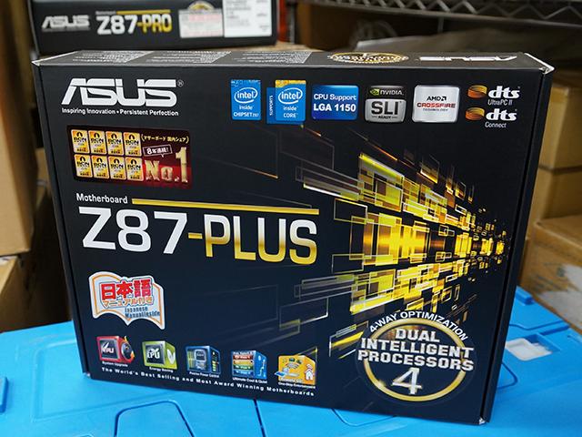 ASUS「Z87-PLUS」