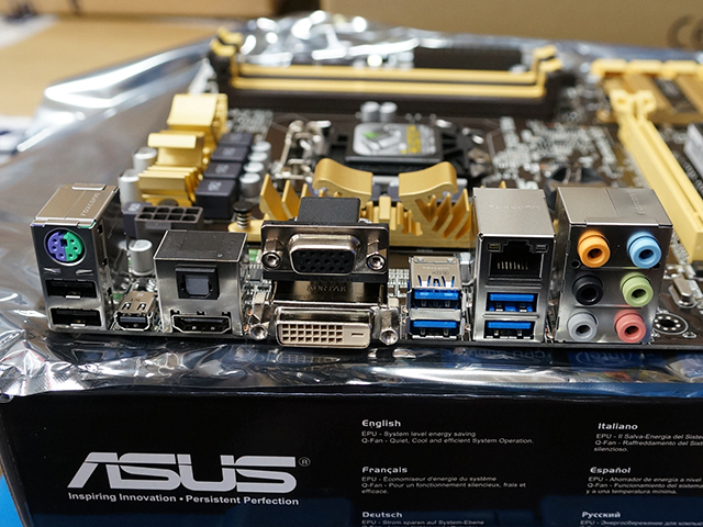 ASUS「Z87-A」