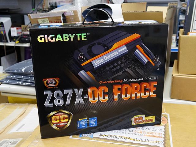 GIGABYTE「GA-Z87X-OC FORCE」