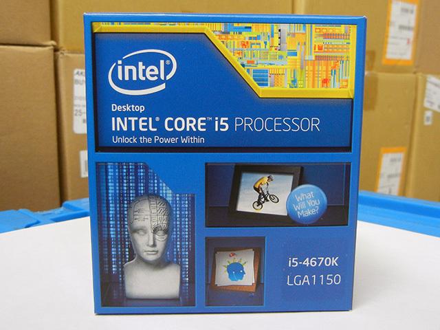 Intel「Core i5-4670K」