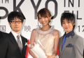 劇場アニメ「サカサマのパテマ」、東京国際映画祭グリーンカーペットに登場! 岡本信彦には「ノブくーん!」の声援